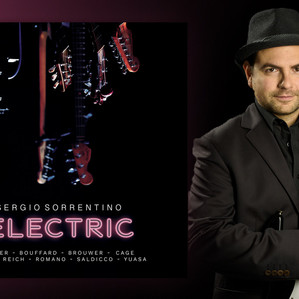 Electric – New Album by Sergio Sorrentino - Out on August 28, 2020