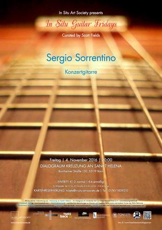 Sergio Sorrentino Live in Cologne and Bonn (German Tour 2016)