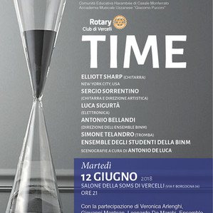 TIME - Sergio Sorrentino in duo with Elliott Sharp - Master Class and Concert