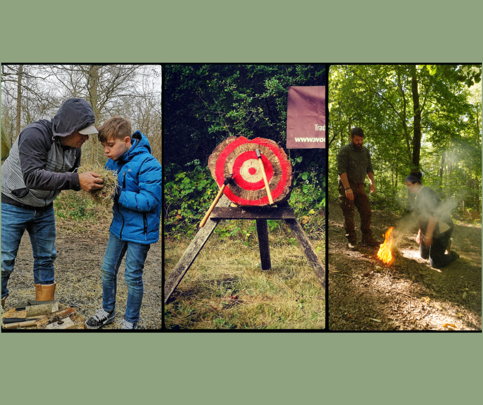 Fire Skills and Axe Throwing