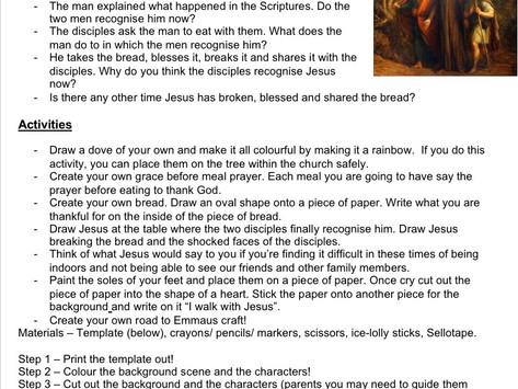 Children's Liturgy: 3rd Sunday of Easter  part 2