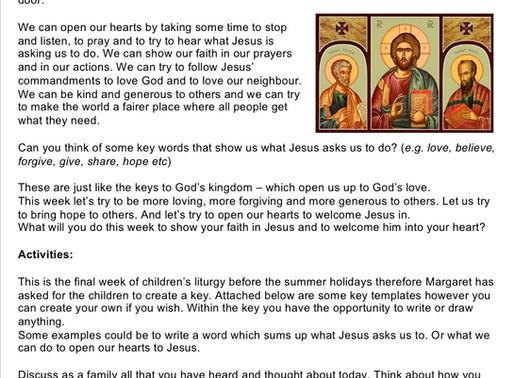 Children's Liturgy: 28th June 2020 part 2