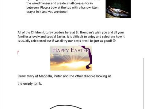Children's Liturgy for Easter Sunday part  2