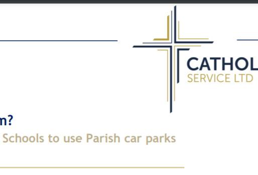 Notice on insurance for parish carparks