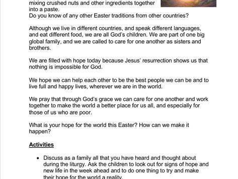 Children's Liturgy for Easter Sunday part  3