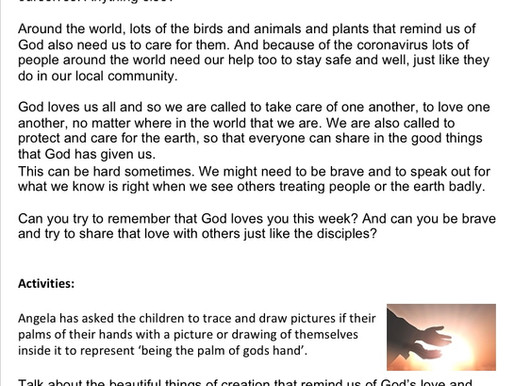 Children's Liturgy 21st June part 2