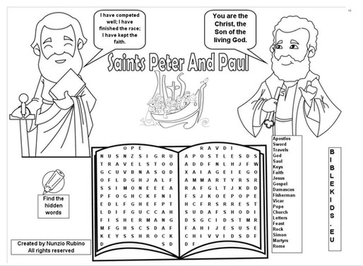 Children's Liturgy: 28th June 2020 part 3