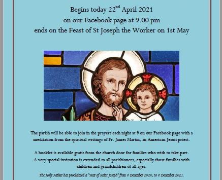 Novena to St Joseph