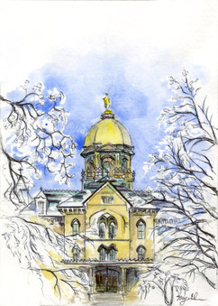 Winter at Notre Dame