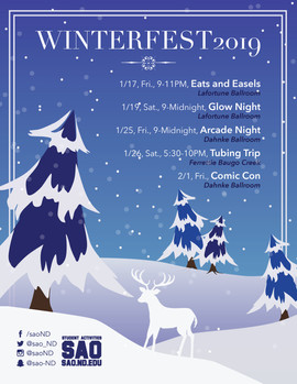 Winterfest Events Poster