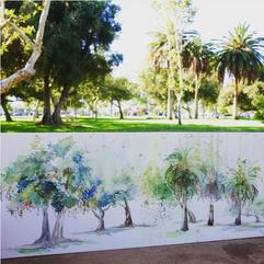 Arcadia Park, Arcadia, California
