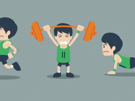 Os 5 fatores da saúde: EXERCÍCIO