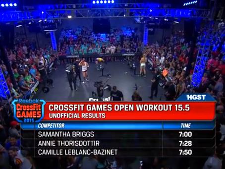 Sam Briggs detonou o 15.5
