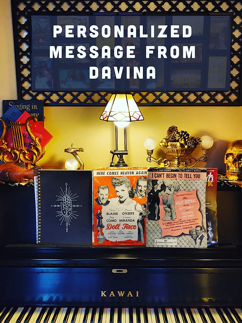 Personalized Message from Davina