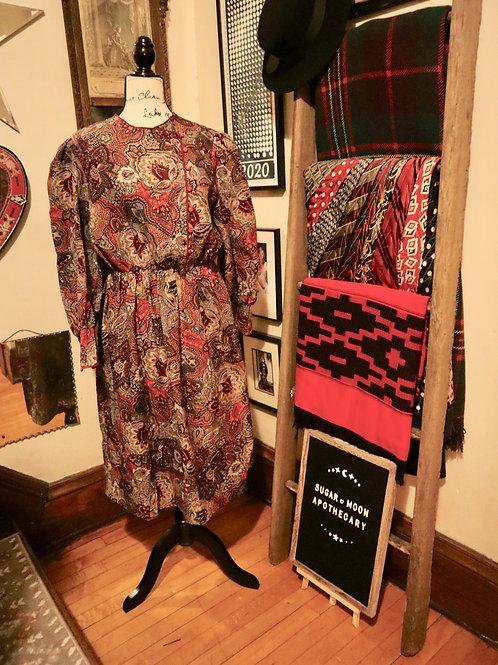 1970s Boho - Prairie Dress
