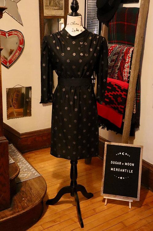 1970s Lorac Shift - Mini Dress