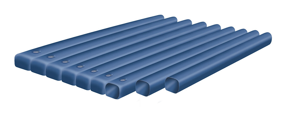 WATERBED TUBES