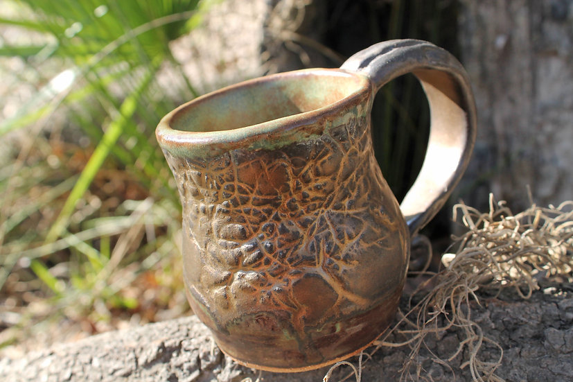 * Golden Afternoon * Spanish Moss Mug*