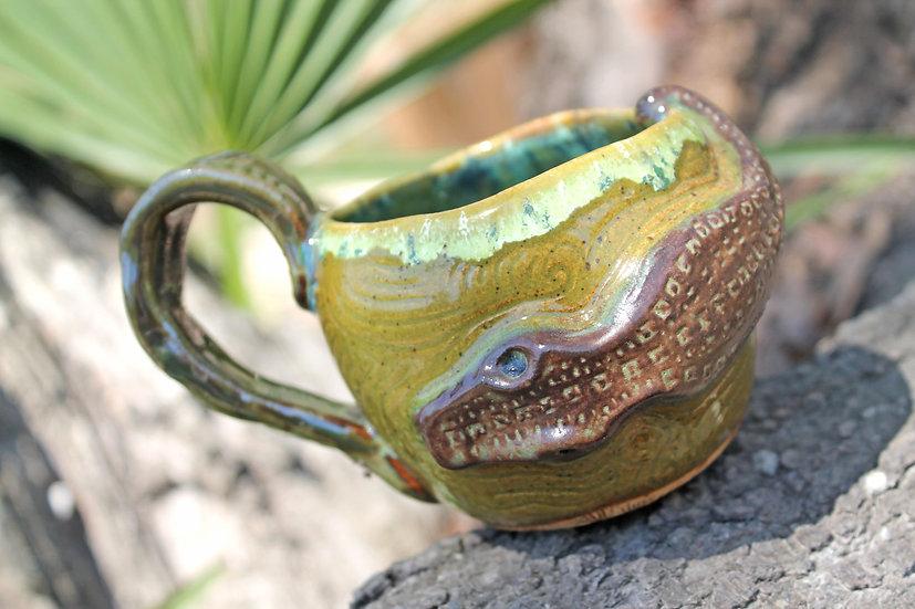 * Swamp Water Mug * Floating Gator * 8 oz.
