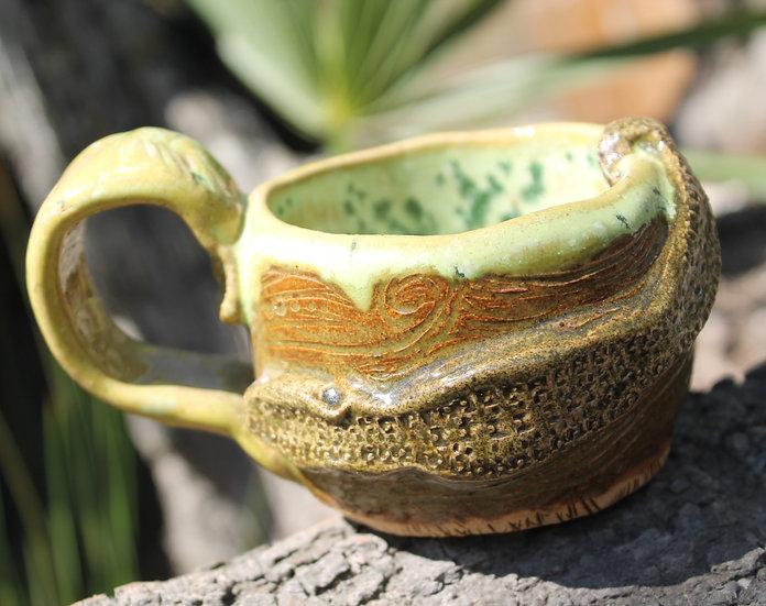 * Swamp Water Mug * Floating Gator * 6 oz.