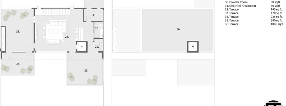 3rd and terrace plan