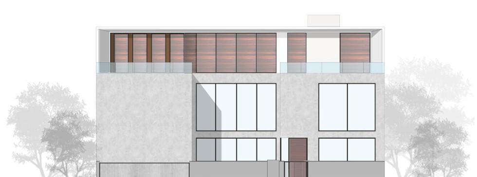 Dua Residence elevation