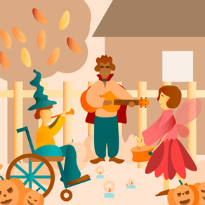 Adaptive Costumes Make This Halloween More Inclusive