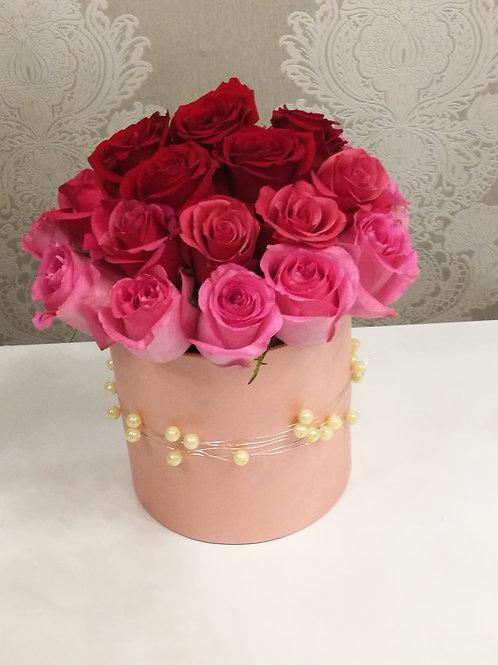 FLOWER BOX RÓŻA