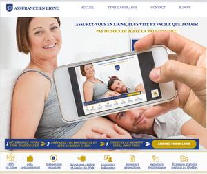 Tous les types d'assurances en ligne via mobiles, cellulaires, Iphones, Ipades