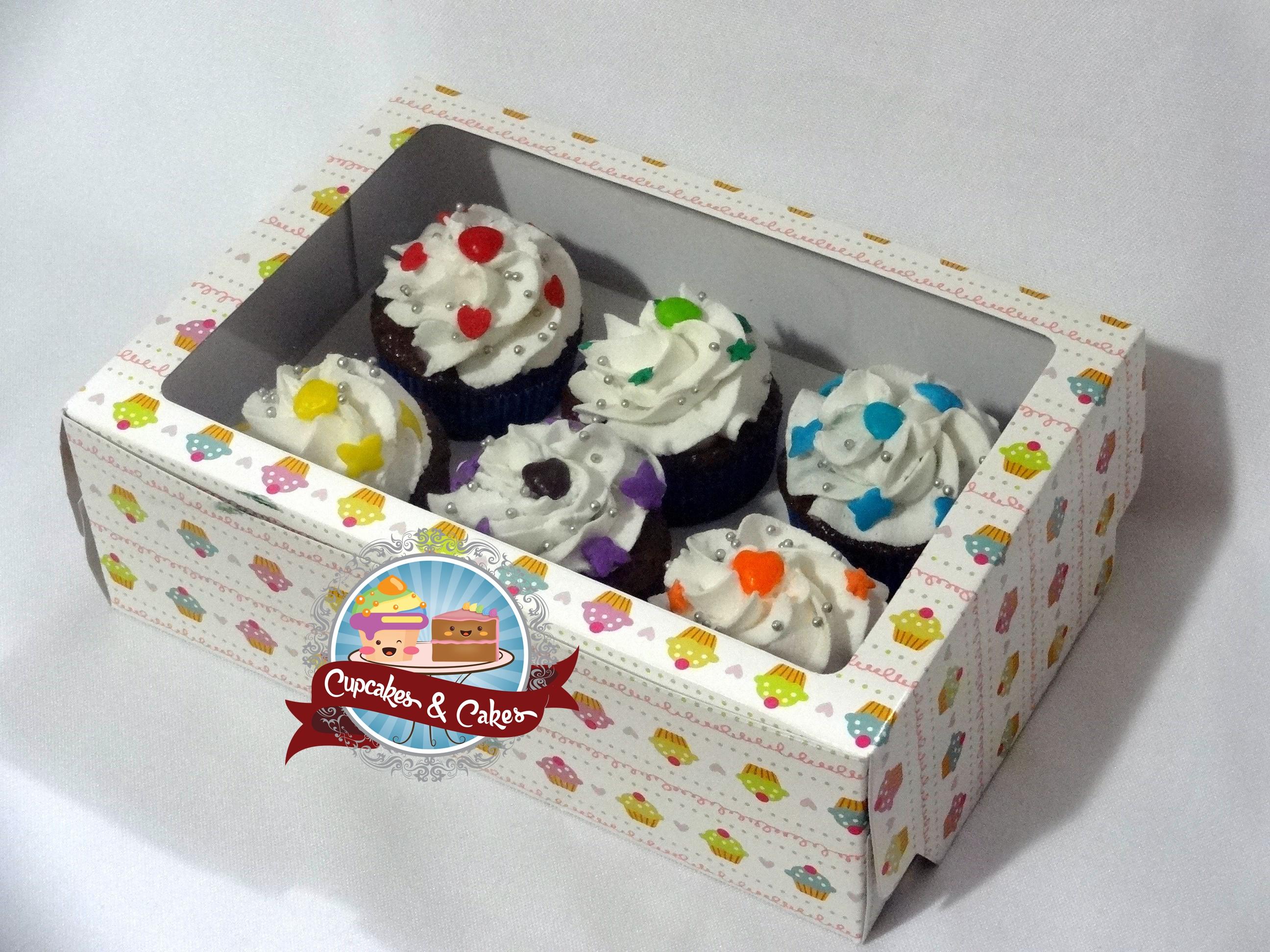 Caixa c/ 6 Mini Cupcakes