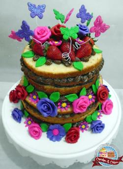 Naked Cake Florido