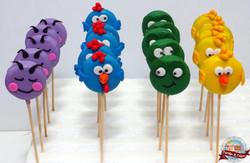 Cookie Pops Galinha Pintadinha