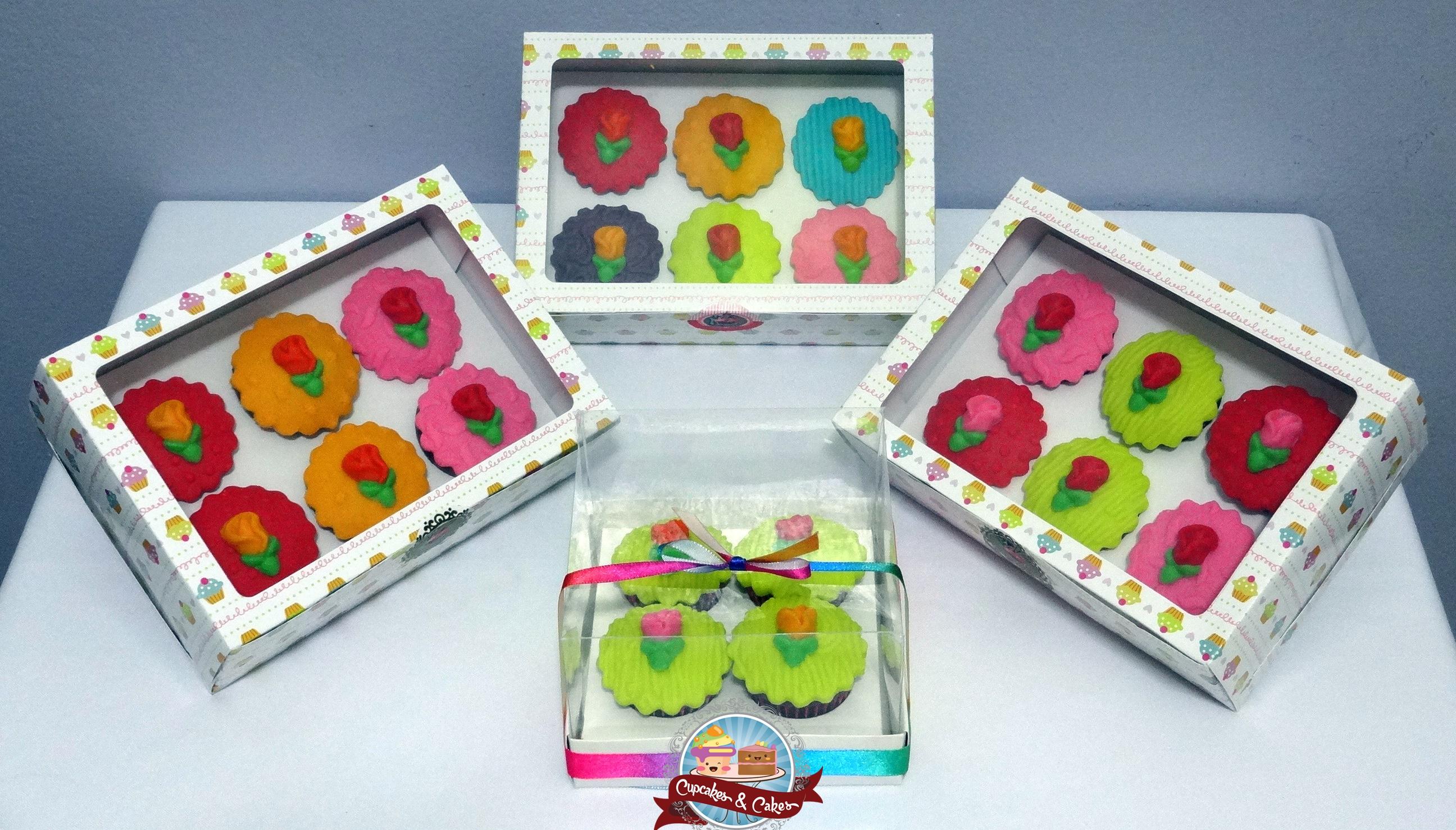 Caixas c/ Mini Cupcakes