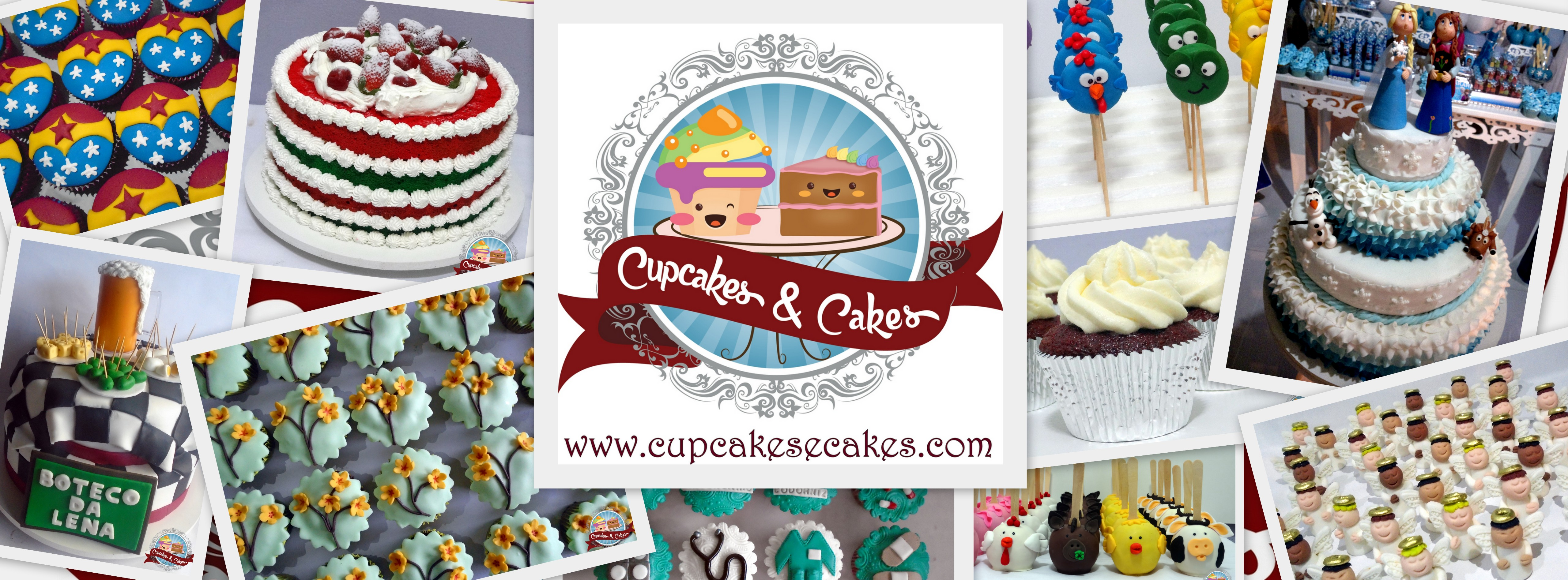 Só aqui na Cupcakes & Cakes®