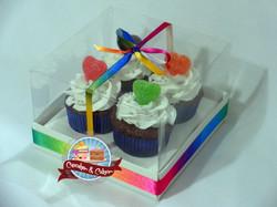 Caixa c/ 4 Mini Cupcakes