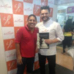 Cake Designer Mário Santiago Junior e o Cake Designer Lucas Piubelli