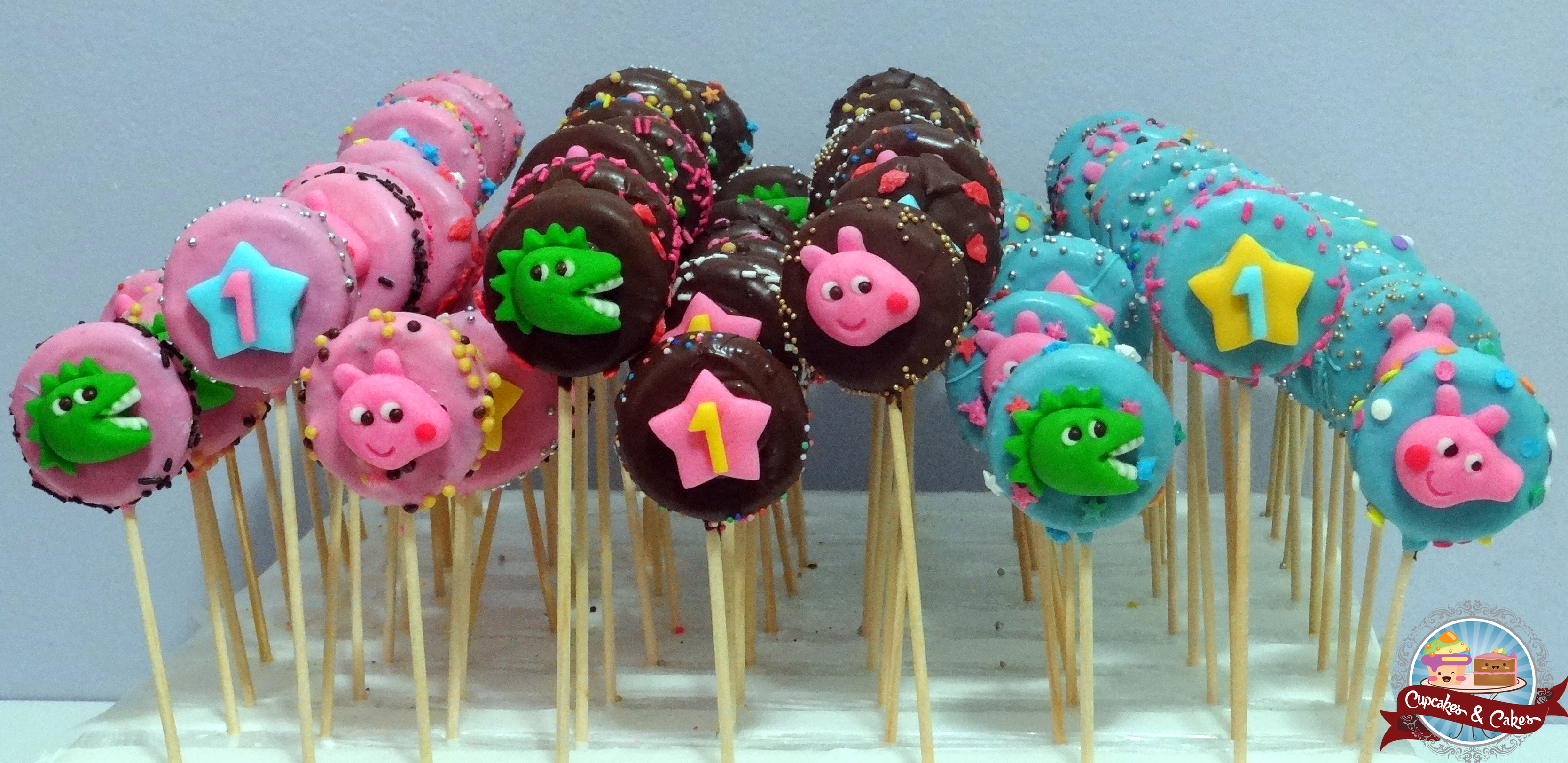 Cookie Pops Peppa Pig