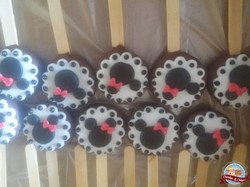 Cookie Pops Minnie Mouse