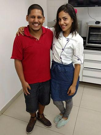 Cake Designers Candelária Forero e Mário Santiago Junior