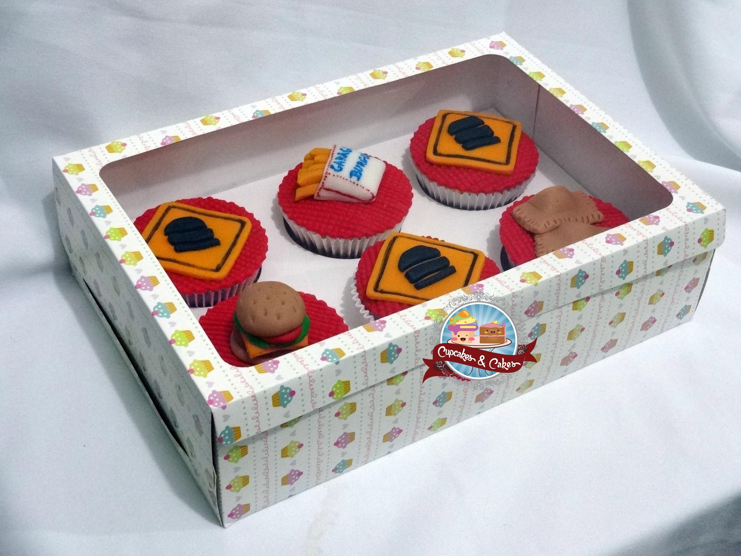 Caixa c/ 6 Cupcakes