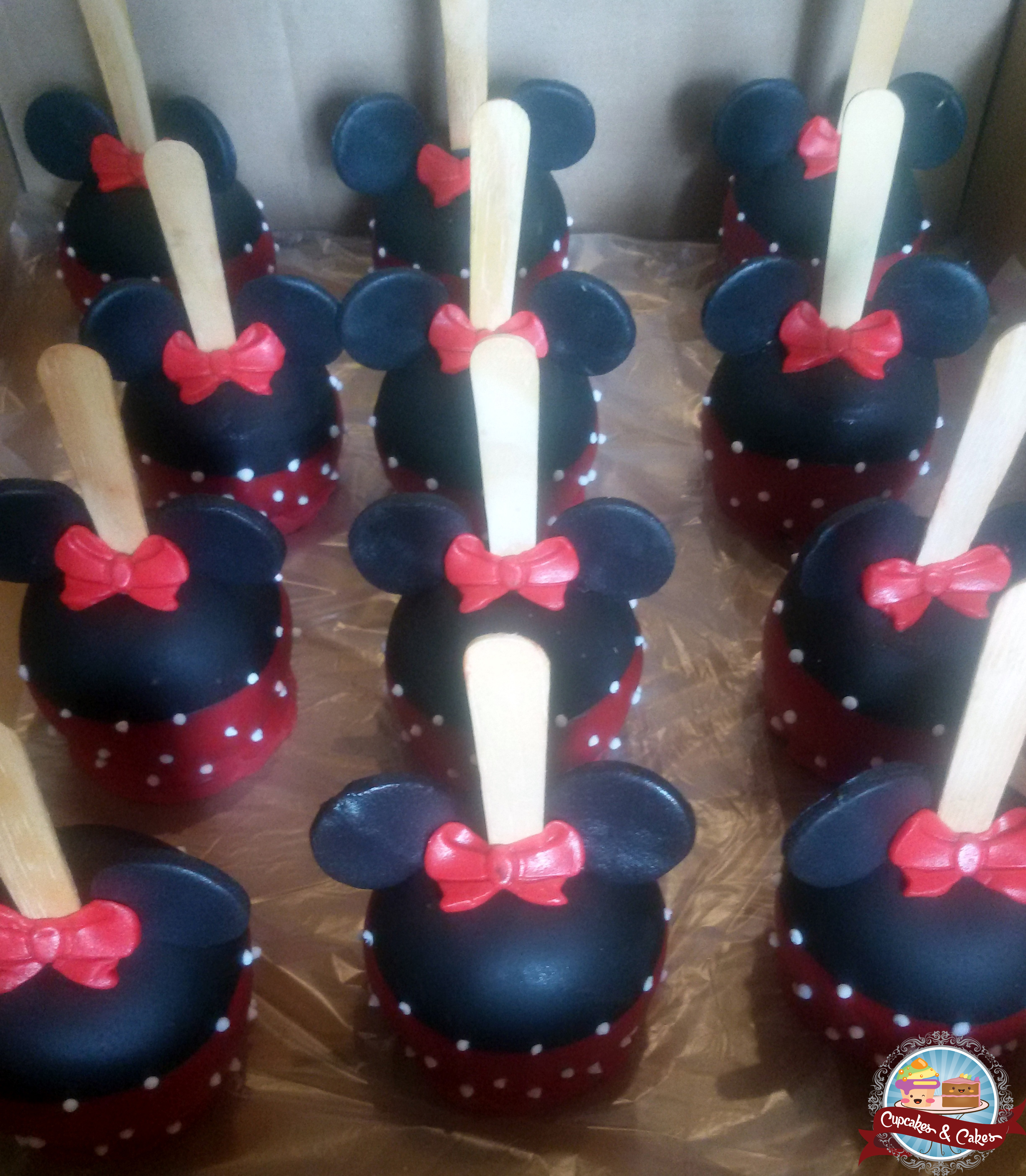 ChocoMaçãs Minnie Mouse