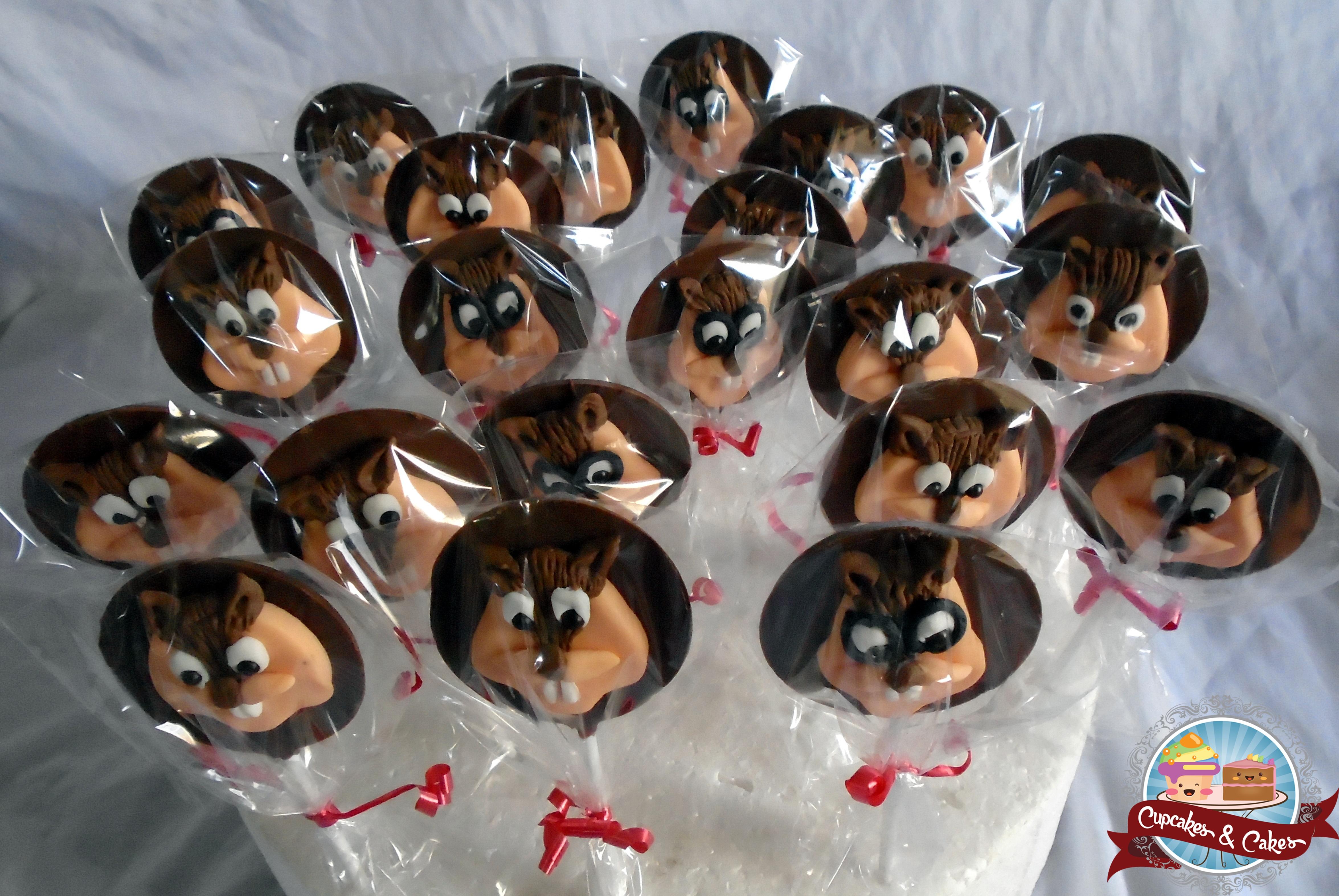 Pirulitos Alvin and the Chipmunks
