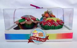 Caixa c/ 4 Cupcakes
