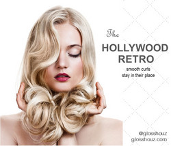 Hollywood Retro City-style Blowout