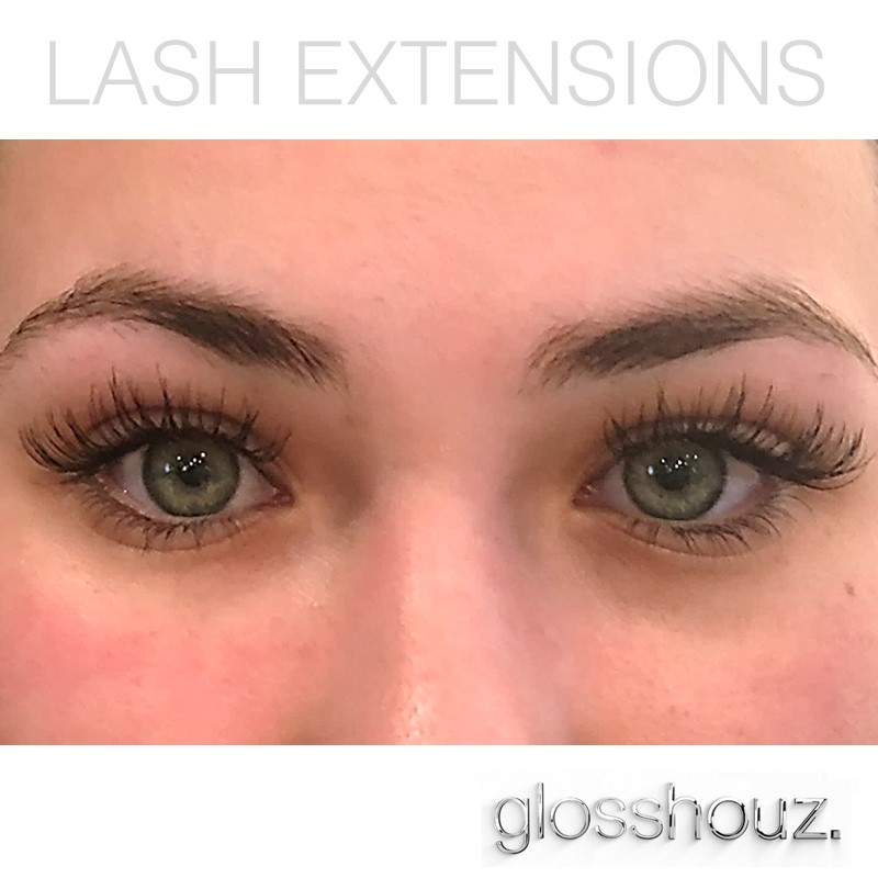 Lash Extensions at Glosshouz