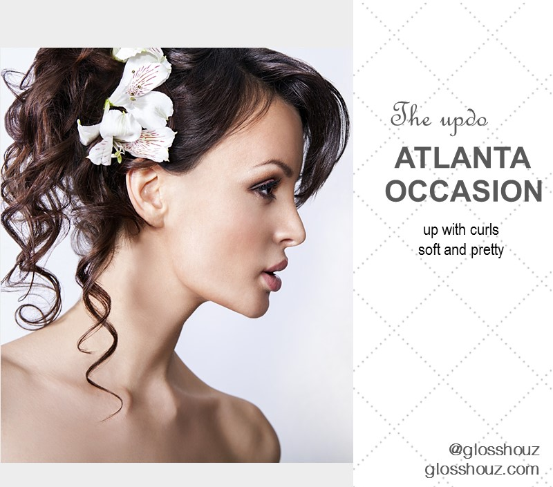 Atlanta Occasion City-style Updo