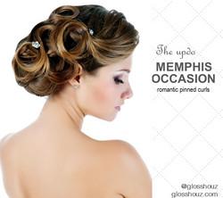 Memphis CIty-style Updo
