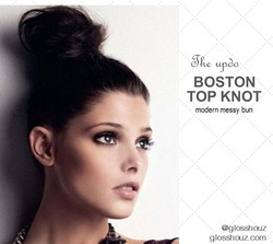 Boston Top Knot City-style Updo