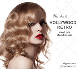 Hollywood Retro City-style Blowout S