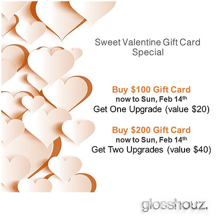 Valentines day Gift Card Special
